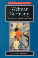 Download Weimar Germany