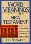 Download Word Meanings in the New Testament