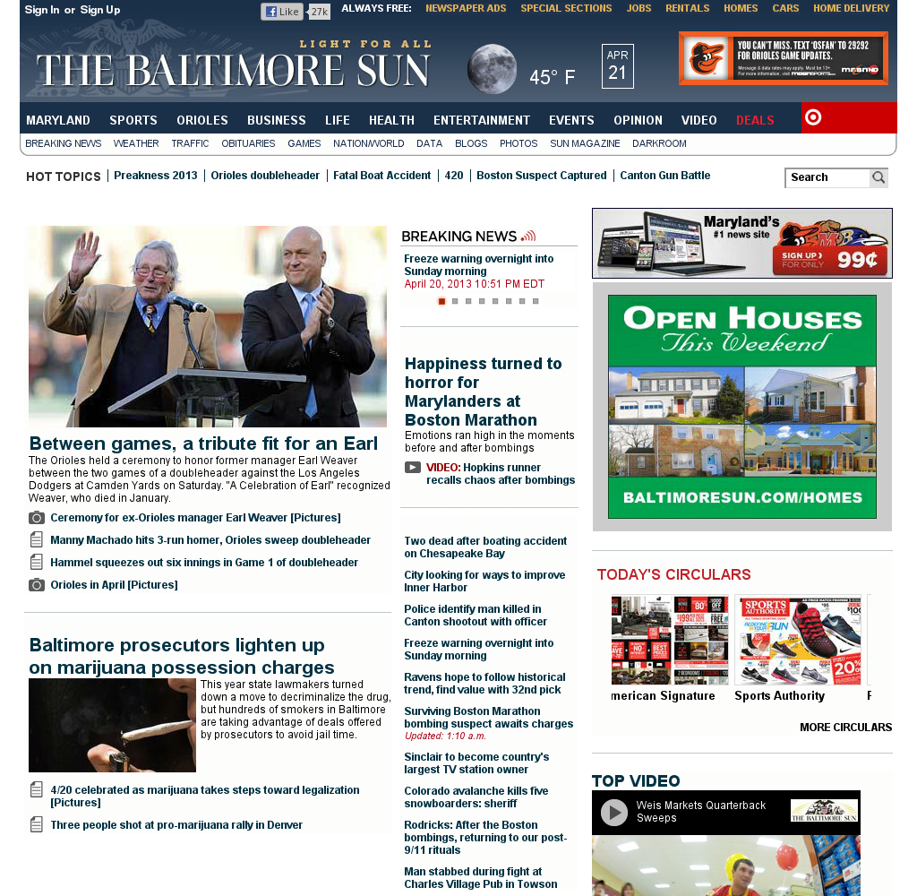 The Baltimore Sun
