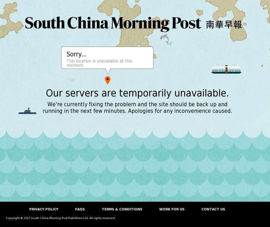 South China Morning Post at Monday Sept. 4, 2017, 8:19 p.m. UTC