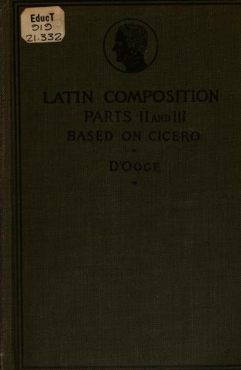 Latin composition for secondary schools by